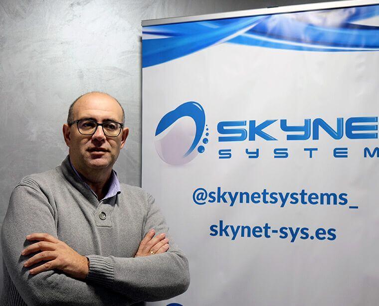 Pérez de Castro en Skynet Systems
